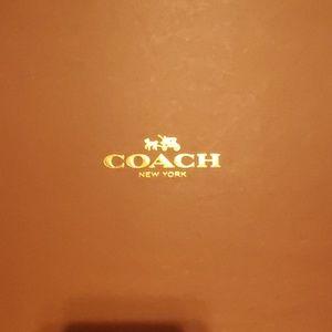 Coach Shoes - Coach Linden metallic ivory wedge